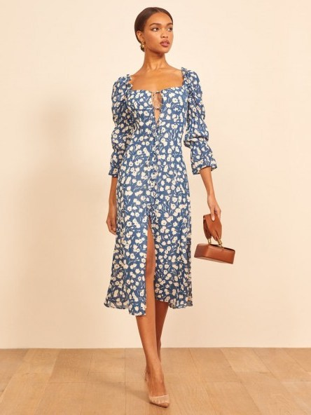 Reformation Dress in Tuli | romantic looks for 2020 - flipped