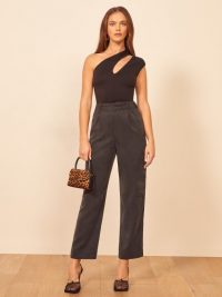 Reformation Rodin Pant in Black