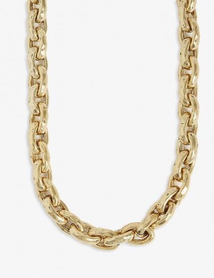 S MAX MARA Palladia necklace in oro