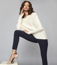 REISS TYNE SKINNY TROUSERS NAVY / essential skinnies