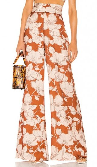Alexis Haruna Pant Sand Floral - flipped