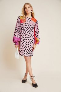 Bl-nk Miranda Tunic Dress Pink Combo / multi prints
