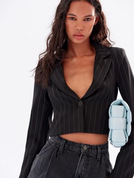 REFORMATION Bateman Blazer in Murray – stylish cropped jacket