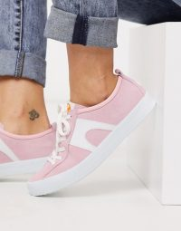 Camper Imar trainer in pink suede – girly trainers