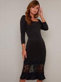 Chi Chi Furla Dress in Black – lbd
