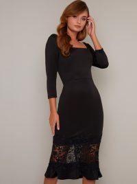 Chi Chi Furla Dress in Black – lbd