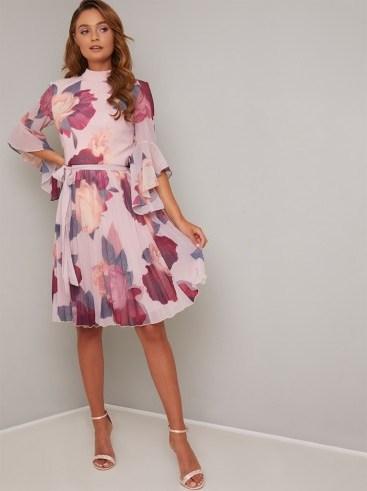 Chi Chi Jessamy Dress in Mink - flipped