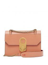 CHRISTIAN LOUBOUTIN Elisa large pink-leather shoulder bag