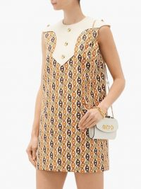 GUCCI GG chain-print shift dress | vintage style dresses