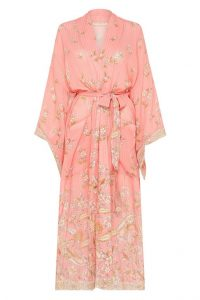 SPELL and the GYPSY COLLECTIVE HENDRIX ROBE in Dusty Pink