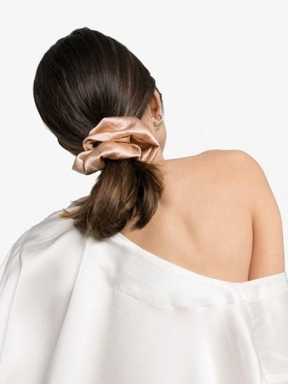 JENNIFER BEHR Nat hair scrunchie | luxe scrunchies - flipped