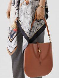 Burberry Leather Anne Bag in Tan | brown designer handbags