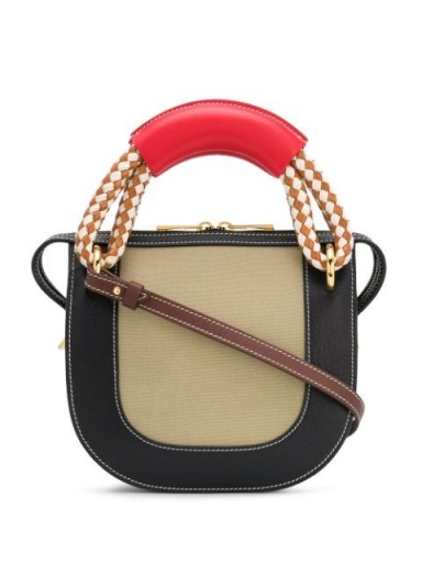 MARNI Bonnie rope-handle handbag / small contemporary handbag