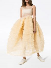 MOLLY GODDARD Nimbus sleeveless tulle dress