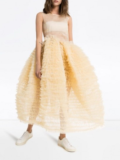 MOLLY GODDARD Nimbus sleeveless tulle dress - flipped