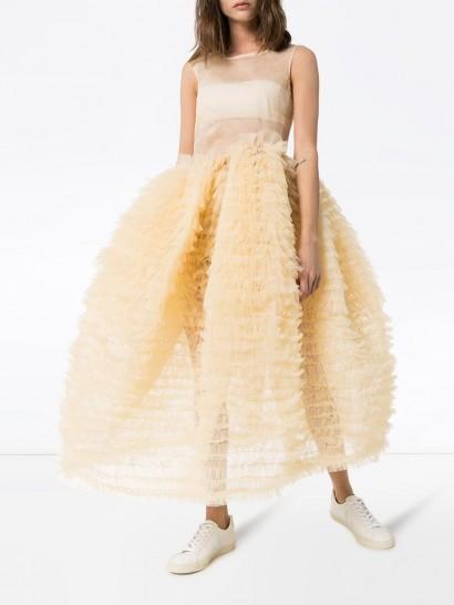 MOLLY GODDARD Nimbus sleeveless tulle dress