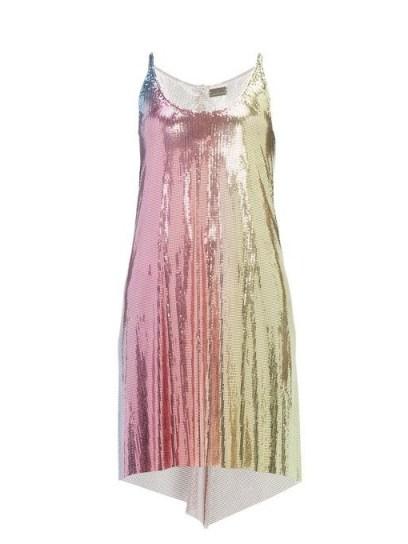 Strappy metallic dress - flipped