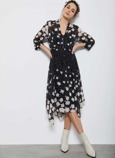MINT VELVET Pandora Floral Midi Dress
