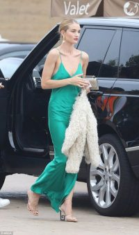 Rosie…green maxi slip dress