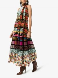 Rixo Cassie Patchwork Floral Dress / multi print dresses