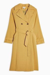 Topshop Sand Trench Coat
