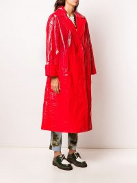 STAND STUDIO oversized single-breasted coat in Red