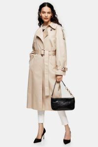 Topshop Stone Editor Trench