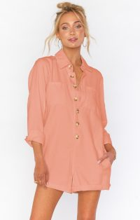 show me your mumu Tegan Jumper in Dusty Coral