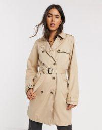 Vila trench coat in beige