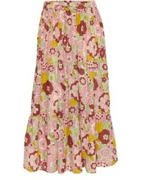 DODO BAR OR Marina skirt in flower 3 pink