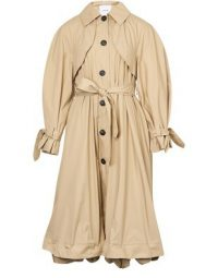 PATOU Puff Sleeved Trench