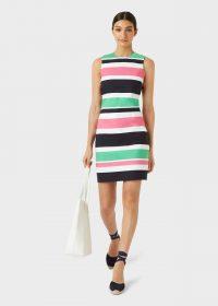 HOBBS ALYA SHIFT DRESS / fresh stripes for spring 2020