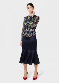 Hobbs AMBERLEE SKIRT in Midnight