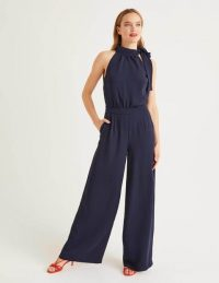 BODEN Angelica Jumpsuit Navy / occasion jumpsuits