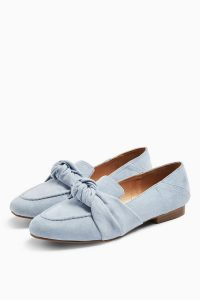 Topshop AYLA Blue Knot Loafers