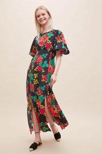 Bailey & Buetow Cherie Maxi Dress / front split dresses