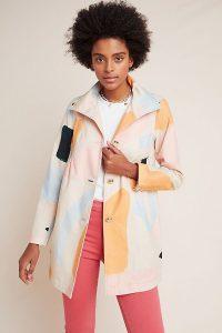 Anthropologie x Moglea Trench Coat | multicoloured coats