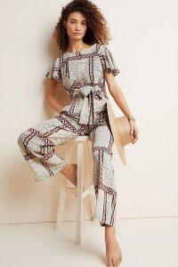 Eva Franco Letizia Jumpsuit | tie waist jumpsuits