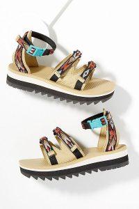 Teva Midform Ceres Sandals Brown Motif | ankle strap sandal