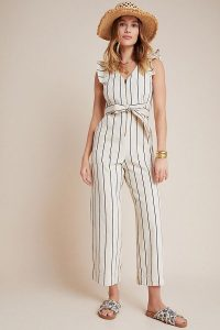 Anthropologie Hedda Jumpsuit | striped cotton jumpsuits