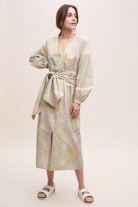 Just Female Organic-Cotton Wrap Dress