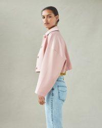 Baum und Pferdgarten Babeth Misty Rose ~ pink oversized cropped jacket