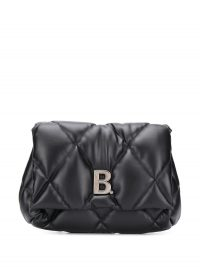 BALENCIAGA Touch Puffy clutch bag / quilted bags