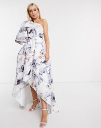 One shoulder dress – floral dresses