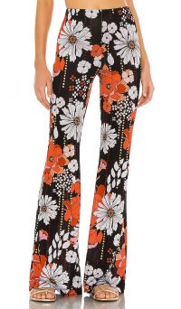 BEACH RIOT X REVOLVE Natalie Pant | vintage style prints on fashion