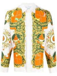 CASABLANCA brocade print shirt