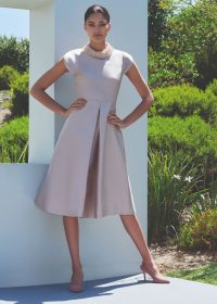 Hobbs CHRISTIE DRESS in Oyster / mother of the bride clothing