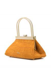 CULT GAIA Mini Estelle browb-suede bag / small vintage-shaped bags