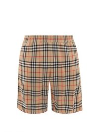 BURBERRY Debson Vintage check shorts / men's summer clothing