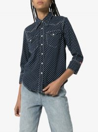 Denimist SHRUNKEN COWBOY SHRT / dot print shirts